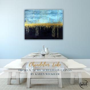 Chandelier-Lake-Abstract-Original-Acryli