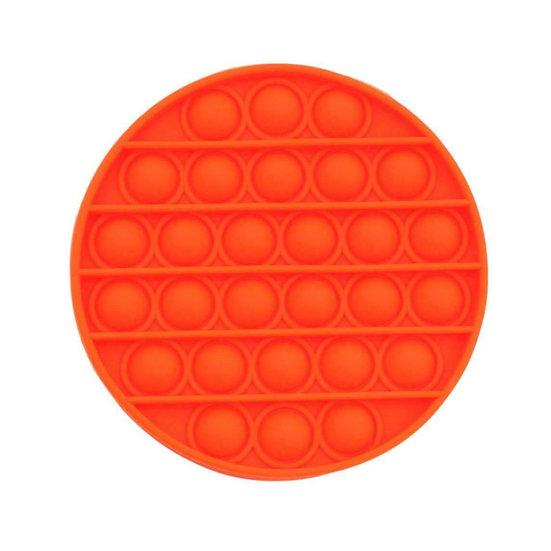 Bubble Pop It Fidget - Orange Round