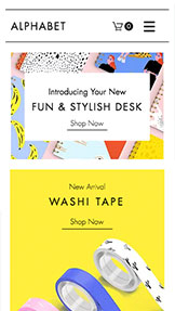 Kunst & Design website templates – Stationery Online Store