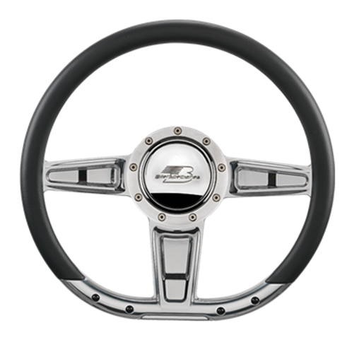 "Camber - 14"" D-Shape Steering Wheel"