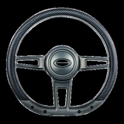 "Formula - 14"" D-Shape Gunmetal Matte"