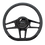 "Thumbnail: Hydro - 14"" D-Shape Black Anodized Steering Wheel"