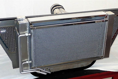 1955-1957 HRD Trifive Radiator with Air Intake system