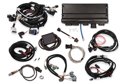 TERMINATOR X MAX LS2/LS3 AND LATE 58X/4X LS TRUCK MPFI KIT WITH DBW THROTTLE BOD