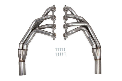 HOOKER BLACKHEART LONG TUBE HEADERS - BRUSHED