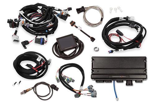 TERMINATOR X MAX LS1 24X/1X MPFI KIT W/DBW THROTTLE BODY & TRANSMISSION CONTOL