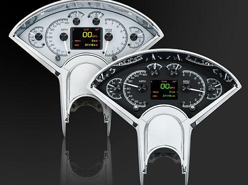 Dakota Digital HDX Direct-Fit Analog Gauge Systems HDX-55C-K