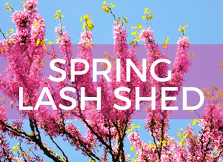 Spring Can Increase Your Lash Shed