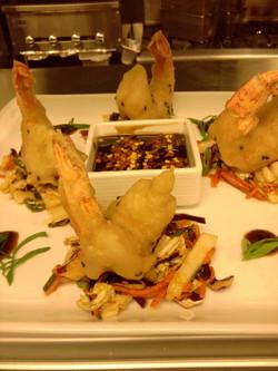 Spicy Tempura shrimp