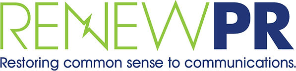 RENEWPR Restoring Common Sense to Communications