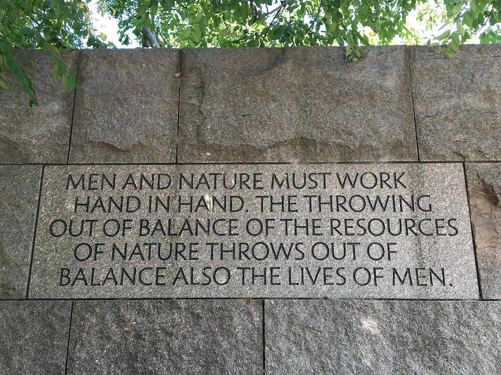 FDR Memorial in Washington, D.C.