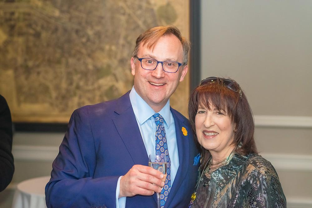 Ben Finzel with Rozanne Weissman