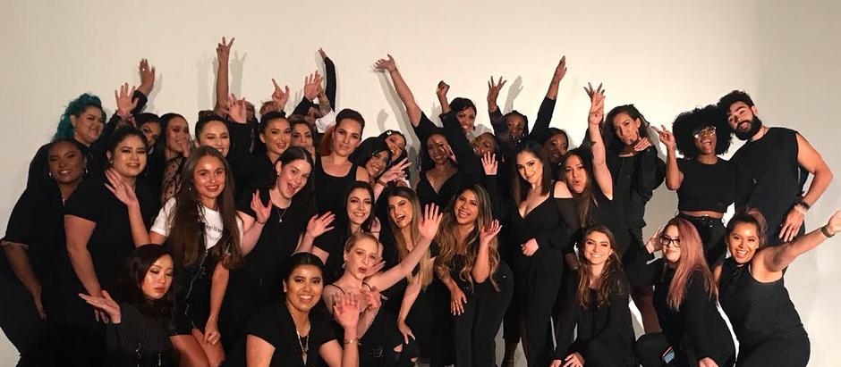 Makeup kurz v Los Angeles 2019