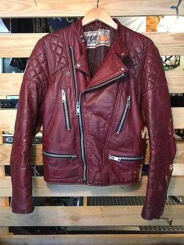 Vintage Red Cafe Jacket