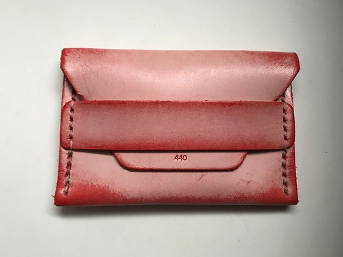 Ghost Flap Wallet - Red