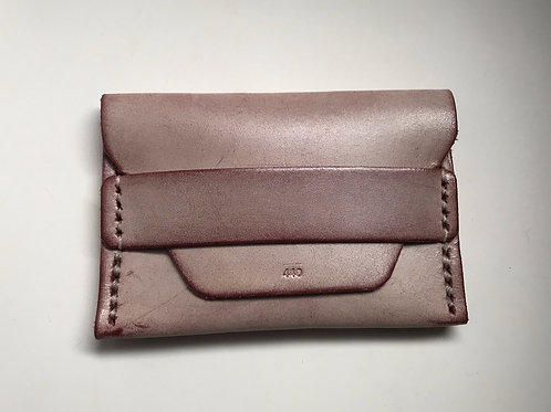 Ghost Flap Wallet - Burgundy
