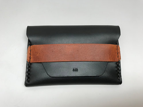 Black & Tan Flap Wallet