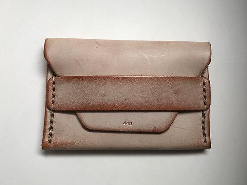 Ghost Flap Wallet - Chestnut