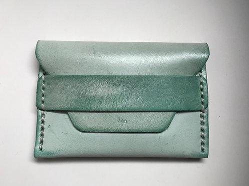 Ghost Flap Wallet - Mint