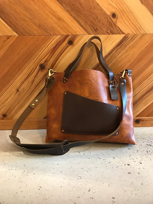 Workman's Tote - Brown (email to be put on waitlist)