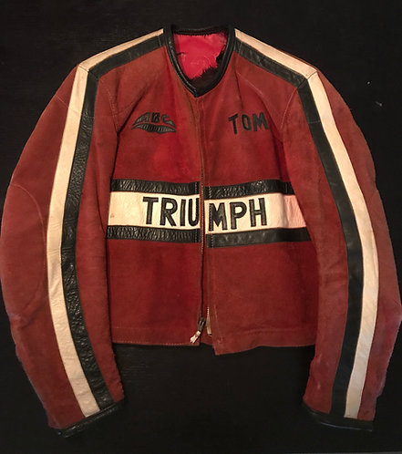 Vintage Triumph Race Jacket