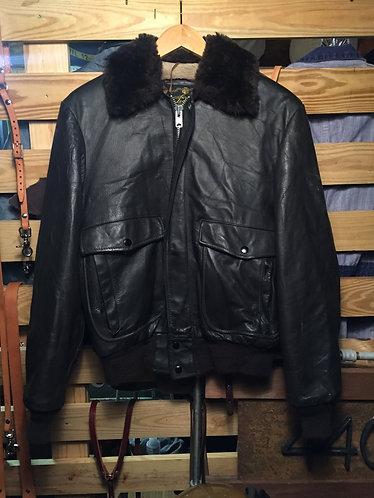 Vintage Bomber Style Jacket
