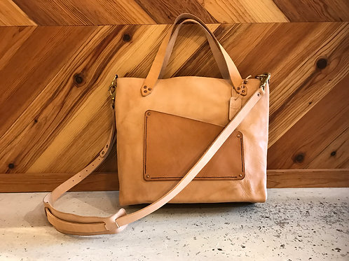 Workman's Tote -Veg Tan (email to be put on waitlist)