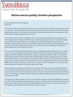 dairies and air quality