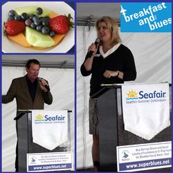 Seafair - Breakfast with blues