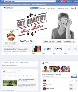 Best Teen Diets - facebook