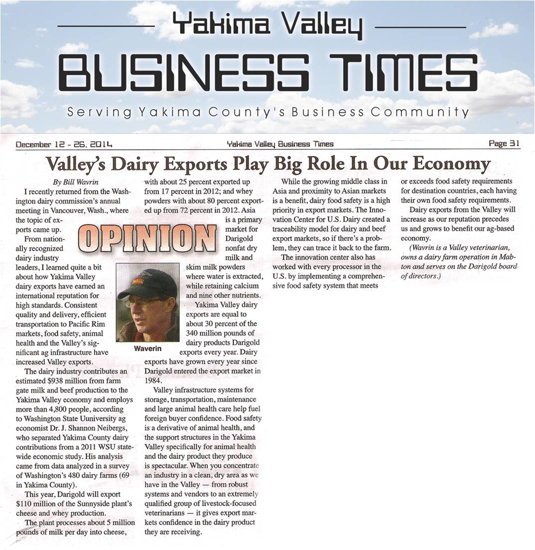 Valley exports play big role