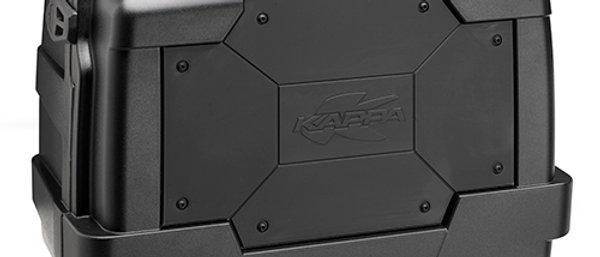 KGR46N Kappa Garda negro 46 Lts.