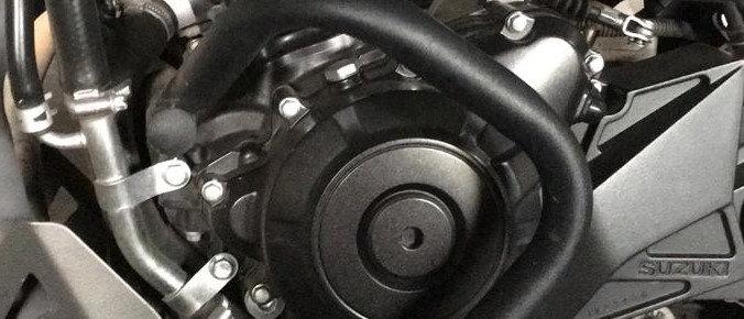 KN3116 Defensas motor Vstrom 250