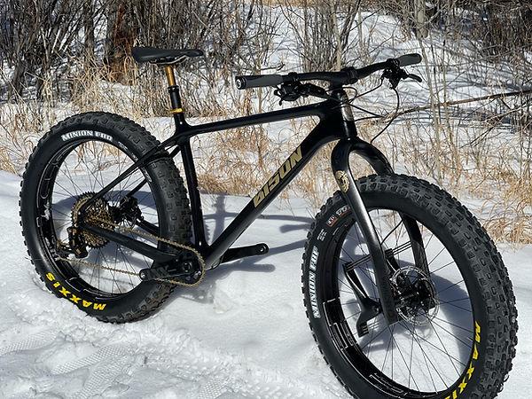 Bison Bicycle Co. Black Dog fat bike