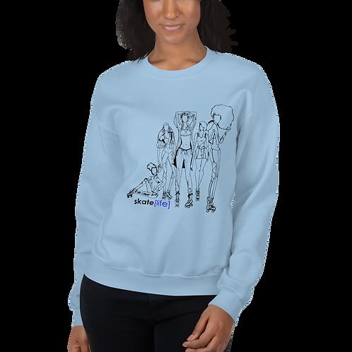 """""""SKATE LIFE"""" Unisex Sweatshirt"""