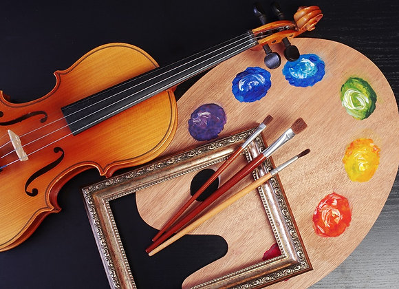 Expressive Art & Music: 7/20, 7/21, and/or 7/22