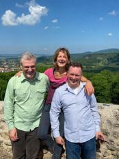 Marcus, Gaby, Sven Meet your Team, Burg von Bad Liebenstein