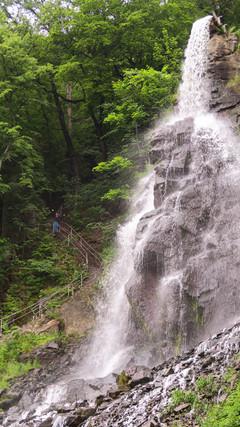 Wasserfall, was will ich loslassen?