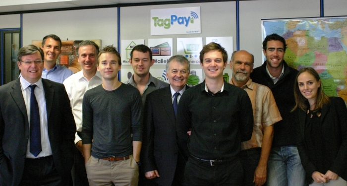 TagPay Team in 2012