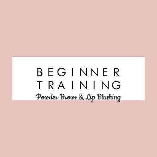 Powder Brows & Lip Blush Beginner Training