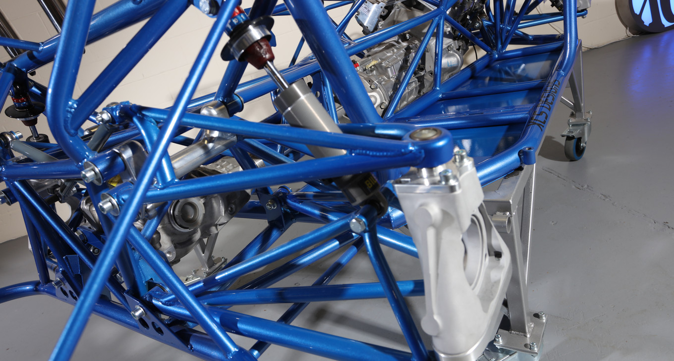 Round Tube Chassis with Components