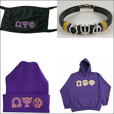 Omega Psi Phi Fraternity, Inc. Collections