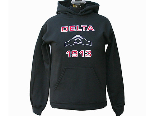 DST-602- Pyramid Hands Pull Over Hoodie