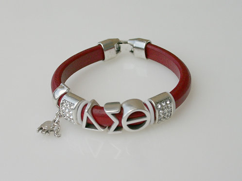 DST-200- Leather Slider Bracelet