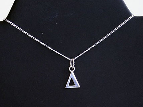 DST-108- Small SS Pyramid Pendant