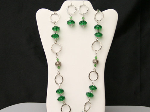 CSI-110 Necklace and Earring Set