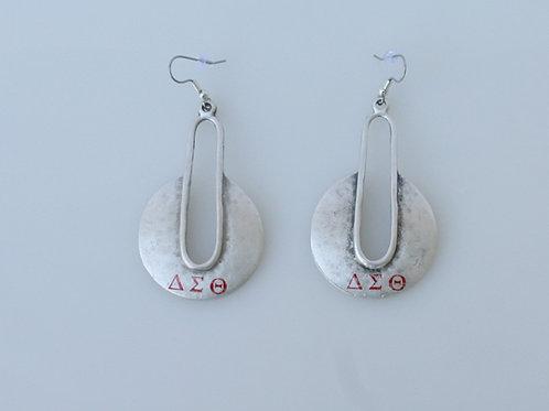 DST-211-Silver Earrings