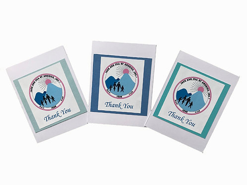 J&J-309-Thank You Note Cards