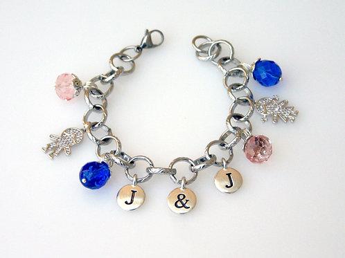 J&J-204-J&J Charm  Bracelet