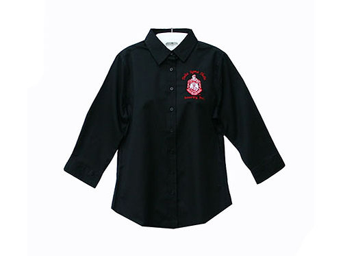 DST-507-3/4 Length Fitted Shirt-Shield